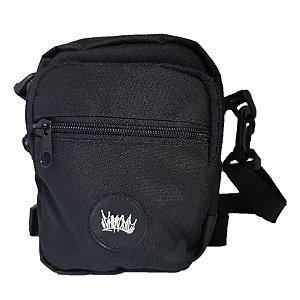 Shoulder Bag Chronic Preta Logo