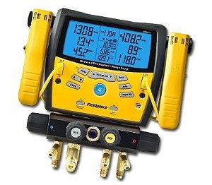 Sman 460 - Manifold Digital Wireless Com 4 Portas  Vacuômetro
