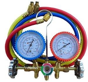 Manifold Ar Condicionado Inverter R410a Suryha