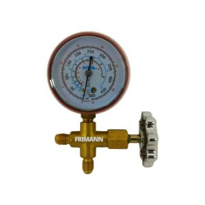 Manifold Alta Pressão R22/12/502 ,manometro Manopla Metal