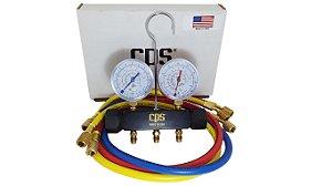 Manifold Ar Condicionado Refrigeração R134a/r22/r12 Cps Usa