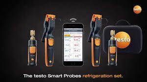Kit De Refrigeração Testo Smart Probes  para Superaquecimento  e Subresfriamento