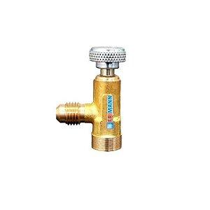 Válvula Perfuradora para Latas Descartáveis R134 MP39 R22 R600