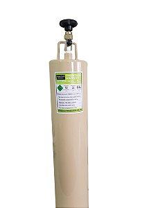 Cilindro Garrafa Para Transporte De Gás Refrigerante 3 Kg