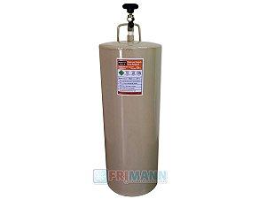 Cilindro Garrafa Para Transporte De Gás Refrigerante 10 Kg