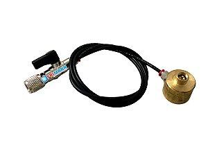 Válvula Tipo Base Para Cilindro Descartável De Gás