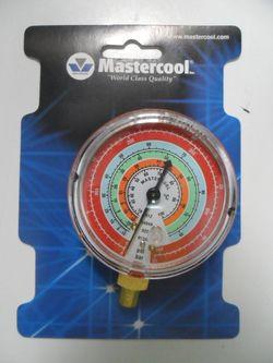 Manômetro Alta Mastercool R12 / R404A / R134a / R22 (BAR/PSI/C)