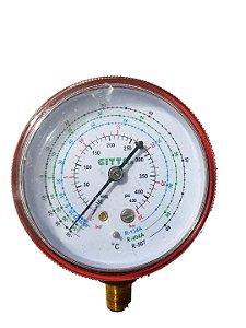 Manômetro Alta Gitta R134a R404a R507
