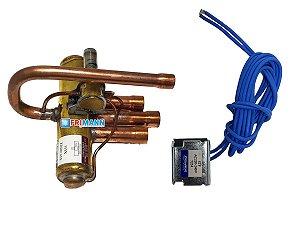 Válvula Reversora Ar Condicionado Split E Acj 220v Stf0202z