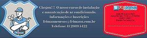 Curso presencial instalação e manutenção de ar condicionado