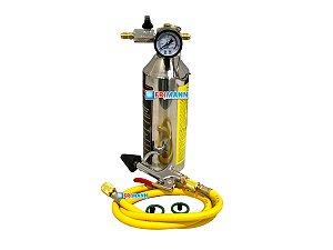 Garrafa Injetora 141b e Ecomat Limpeza Ar Condicionado Kit Flush