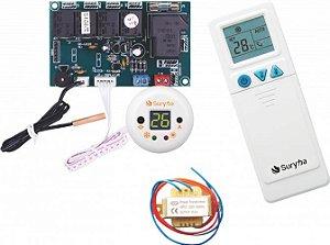 Placa Universal Ar Condicionado Split e Acj 01 Sensor Suryha