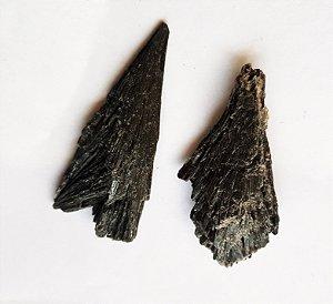 Cianita Negra (vassoura de bruxa) 5cm