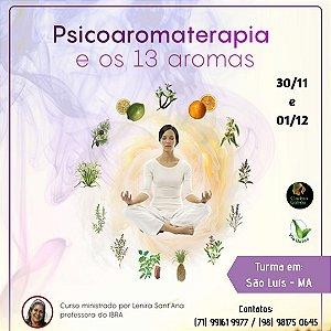 Curso Psicoaromaterapia e os 13 Aromas - IBRA