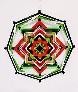 Mandala de lã 50cm