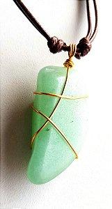 Colar Artesanal Quartzo Verde