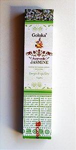 Incenso Goloka Ayurvedic Jasmine- massala