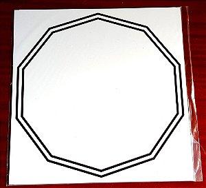 Gráfico Decágono Duplo - PVC