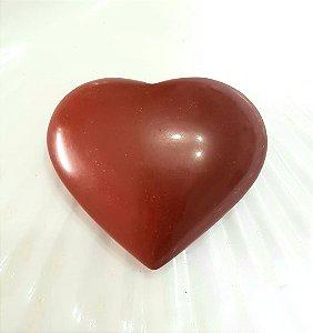 Coração de Jaspe Vermelho