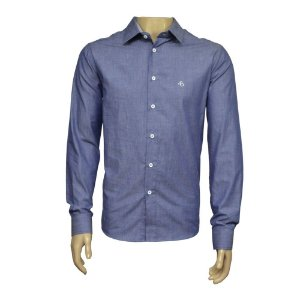 Camisa Slim Jeans Com Detalhe