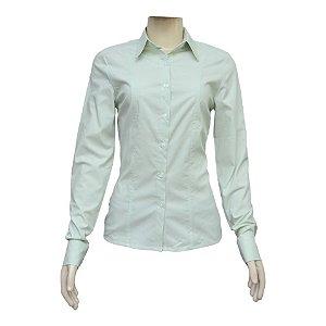 Camisa Social Feminina Verde