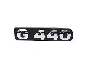 Emblema de potência G 440 Cromado Antigo (Unidade)