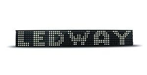 Painel de Led para caminhão - LEDWAY 8 Linhas - BRANCO (Unidade)