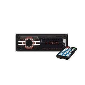 Aparelho Radio Mp3 Automotivo First | Usb Sd Aux + Controle (UNIDADE)