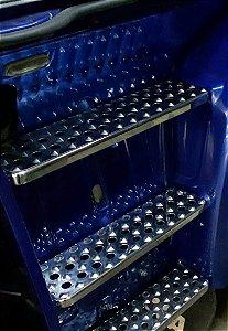 Escada Personalizada CHARADA SCANIA 113 em Inox (Conjunto de 6 Peças)