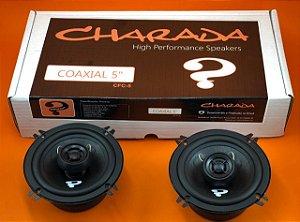 """Alto Falante Coaxial 5"""" Especial CHARADA 300Watts/150WRMS"""