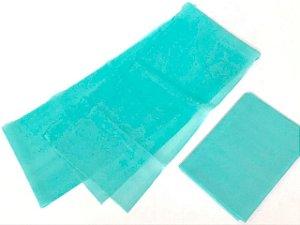 Faixa Elástica Modelo Theraband - Leve  - Cor Azul Claro