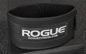 """Cinto Rogue 5"""" Levantamento Peso Nylon - Tamanho Grande"""