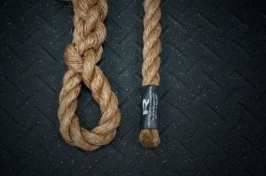 "Climbing Rope Rogue - 15'x 1.5"" Corda Naval"