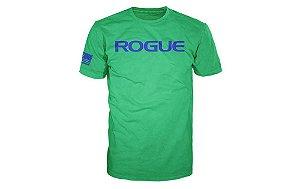 ROGUE Basic Shirt (Camiseta) - Cor Verde com Azul