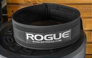 """Cinto Rogue 4"""" Levantamento Peso Nylon - Tamanho Pequeno"""