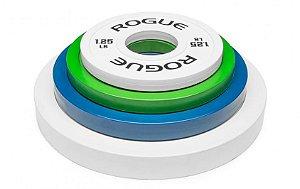Anilha ROGUE Colorida - Change Plates - Peso: LB -  Par