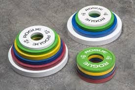 Anilha ROGUE Colorida Change Plates - KG - Par
