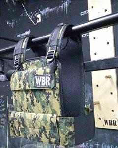 Colete Peso WBR com Placas de Peso 20lb Ajustável