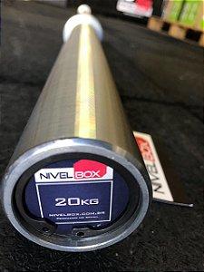 Barra NIVELBOX Masculina 28,5mm - 20kg - Zincada Preto