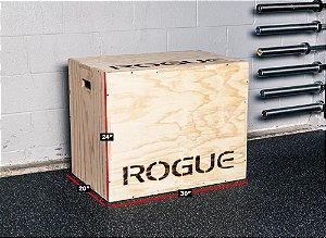 Caixa de Pular ROGUE - 3 em 1 Madeira - PLYO BOX