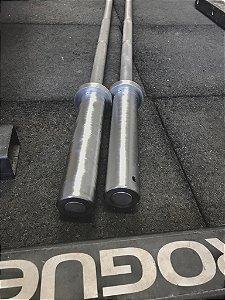 Barra  Treinamento Alumínio Rogue -15lb - (Usada)
