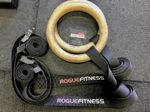 Conjunto Argolas Madeira ROGUE - (seminovo)
