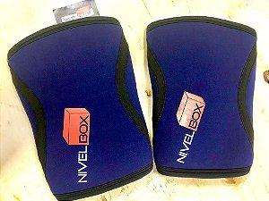 Joelheira NIVELBOX - Knee pad 7mm - Azul
