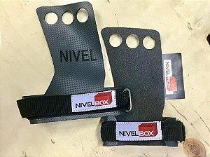 Hand Grip NIVELBOX - Fibra Carbono - 3 furos