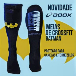 Meião CrossDoox - Batman