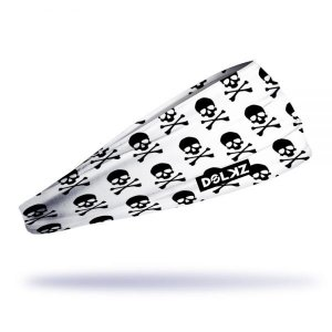 Headband Slim Dolkz - Black Skull