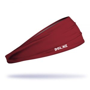 Headband Slim Dolkz - Bordeaux Red
