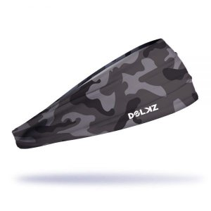 Headband Slim Dolkz - Dark Grey Camo