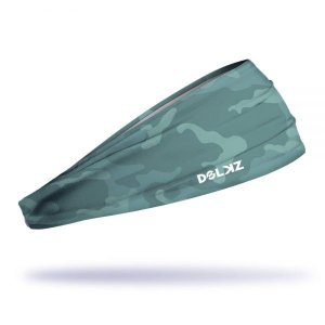 Headband Slim Dolkz - Forest Green Camo