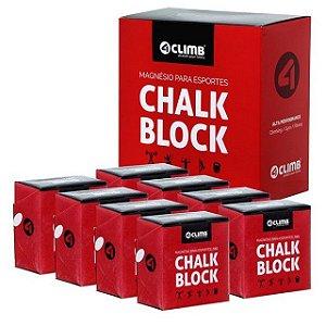 Gym Chalk ( Magnésio)  - Caixa com 8 Pacotes (2 oz - 56 gramas)